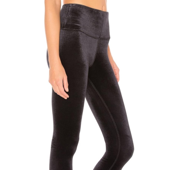 b894b098d70d7 ALO Yoga Pants | Aloyoga High Waist Posh Legging Black | Poshmark